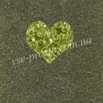 Бисер (5гр) 01152, зеленый (сольгель кристаллический)