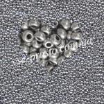 Бисер 01700, серебряный