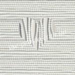 БУСИНЫ, белые №030, круглые, 4mm, низка