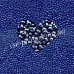 Бисер 33061/1012, синий (люкс)