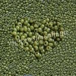Бисер 83113/1016, желто-оливковый (люкс)