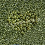 Бисер (10гр) 83113/1016, желто-оливковый (люкс)