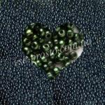Бисер (10гр) 49055/1022, зеленый (люкс)