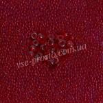 Бисер (10гр) 90090/103, красный (натуральный прозрачный)