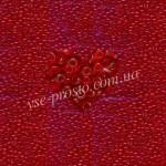 Бисер (10гр) 90070/104, красный (натуральный прозрачный)