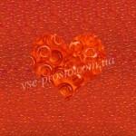 Бисер 90030/106, оранжевый