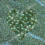 Бисер (5гр) 11024, зеленый (хамелеон)