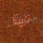 Бисер (10гр) 10070/111, коричневый (натуральный прозрачный)