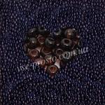 Бисер (10гр) 10140/114, коричневый (натуральный прозрачный)