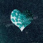 Бисер (5гр) 50710/119, зеленый (натуральный прозрачный)