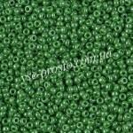Бисер RR-431, зеленый перламутровый, 11/0 (10гр)