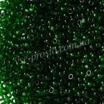 Бисер (10гр) Charlotte 50060/121, зеленый, 13/0