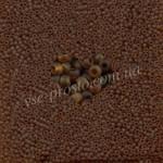 Бисер (10гр) 10090/145, коричневый (натуральный матовый)
