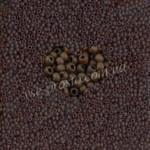 Бисер (10гр) 10110/146, коричневый (прозрачный матовый)
