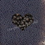Бисер (10гр) 10140/147, коричневый (прозрачный матовый)