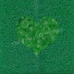 Бисер 50100/157, зеленый (матовый)