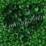 Бисер 50120/158, зеленый (матовый)