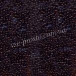 Бисер микро 10110/113, коричневый, 15/0 (5 гр.)