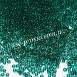 Бисер микро 50710/119, изумрудный, 15/0 (5 гр.)
