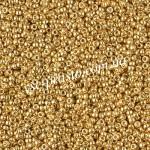 Бисер RR-4202, золотой Duracoat, 15/0 (5гр)