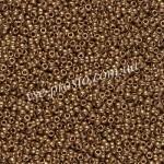 Бисер RR-457 L, бронзовый Metallic, 15/0 (5гр)