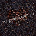 Бисер (5гр) 17140, коричневый (блестящий)