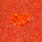 Бисер (10гр) 90030/173, оранжевый (прозрачный матовый)