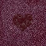 Бисер (10гр) 90120/177, красный (прозрачный матовый)