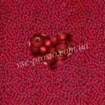 Бисер 97070/178, красный (матовый)