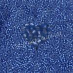 Бисер (5гр) 37050/181, синий (блестящий матовый)