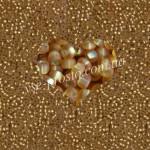 Бисер 17050/182, золотистый (матовый)