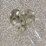 Бисер 78102/185, серебристый (матовый)