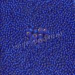 Бисер 37080/193, синий (матовый)