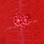 Бисер (10гр) 93170/204, красный (натуральный керамика)