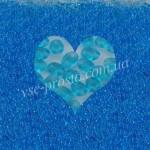 Twin (10гр) B6002/2073, голубой (кристаллический прозрачный)