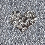 Twin (10гр) 01700/2097, серебряный (металлизированный)