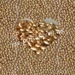 Twin (10гр) 01710/2098, золотой (металлизированный)