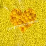 Бисер 83130/209, желтый