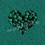 Бисер (10гр) 53240/216, бирюзово-зеленый (натуральный керамика)