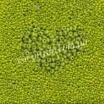 Бисер 53430/221, оливковый