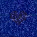 Бисер (10гр) 33050/231, синий (натуральный керамика)