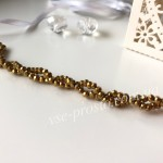 Хрусталик золотистый 063, 50шт. (2х3мм)