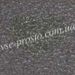 Бисер RR-2412, серый прозрачный, 10/0 (10гр)