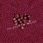 Бисер (10гр) 93310/249, бордовый (натуральный керамика)