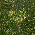 Бисер 59430/257, зеленый