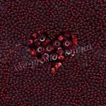 Бисер (5гр) 97120/302, красный (блестящий)