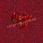 Бисер (5гр) 97070/304, красный (блестящий)