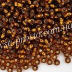 Бисер (10гр) 17110/314, коричневый (блестящий)