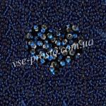 Бисер (5гр) 67100/327, синий (блестящий)