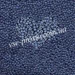 Бисер 33023/1010, серо-синий (люкс)